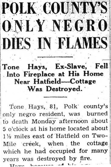 Polk County Death