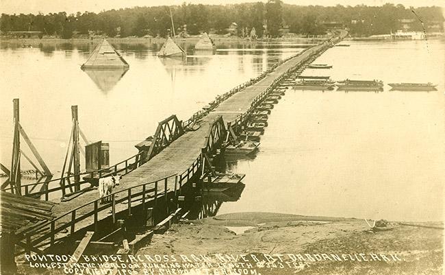 Dardanelle Pontoon Bridge