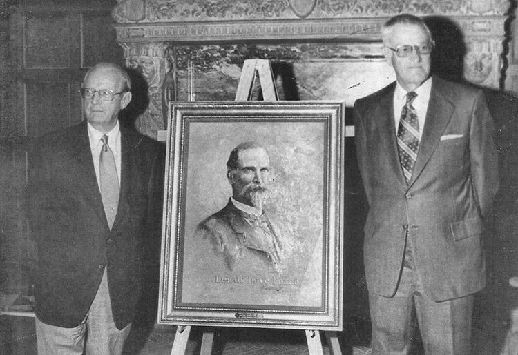 Powell Clayton Portrait