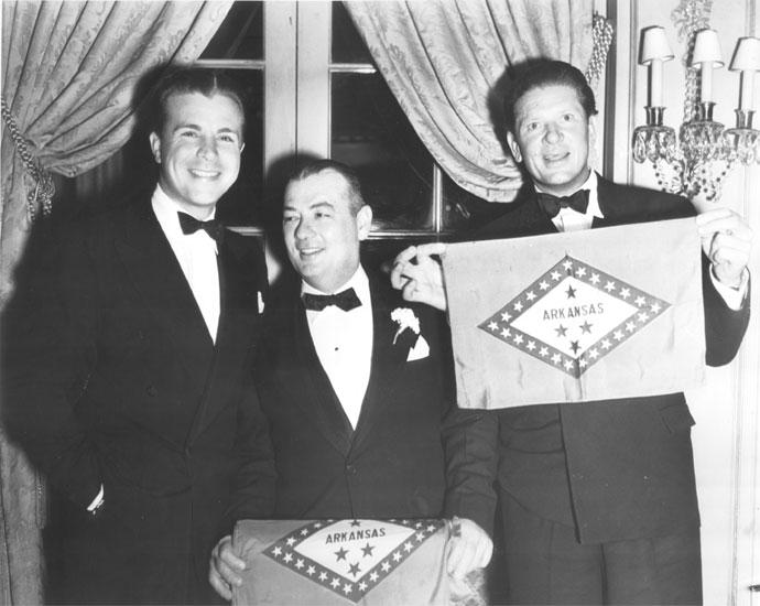 Powell, Hall, and Burns