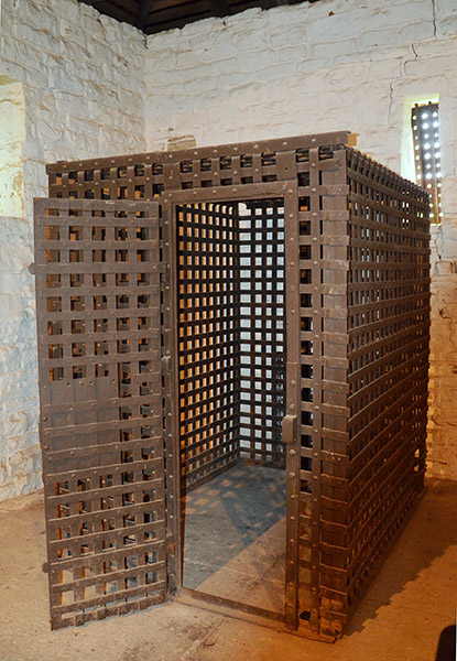Powhatan Jail Cell