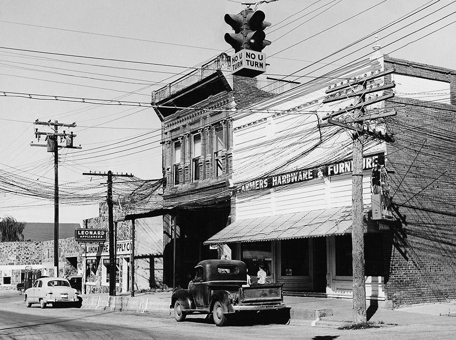 Prairie Grove Telephone Company Office