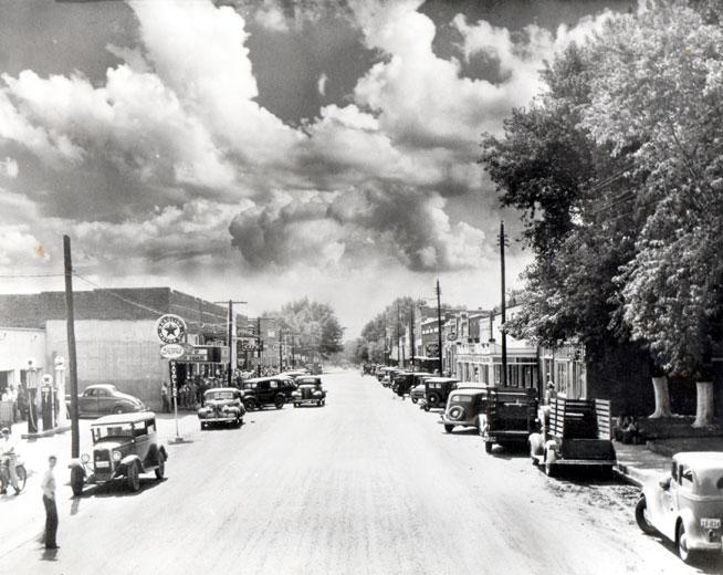 Prairie Grove: Downtown