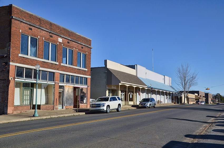 Prescott Commercial Historic District