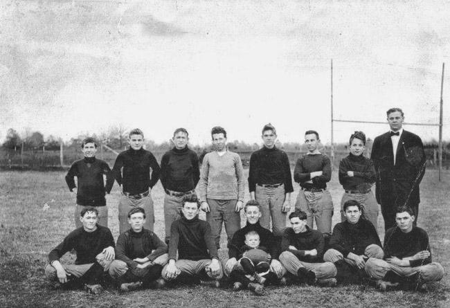 First Prescott Football Team, 1911