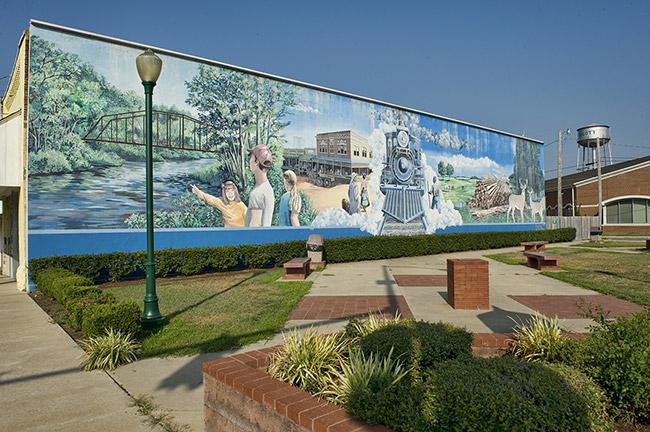 Railroad Mural
