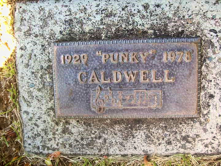 Punky Caldwell Grave