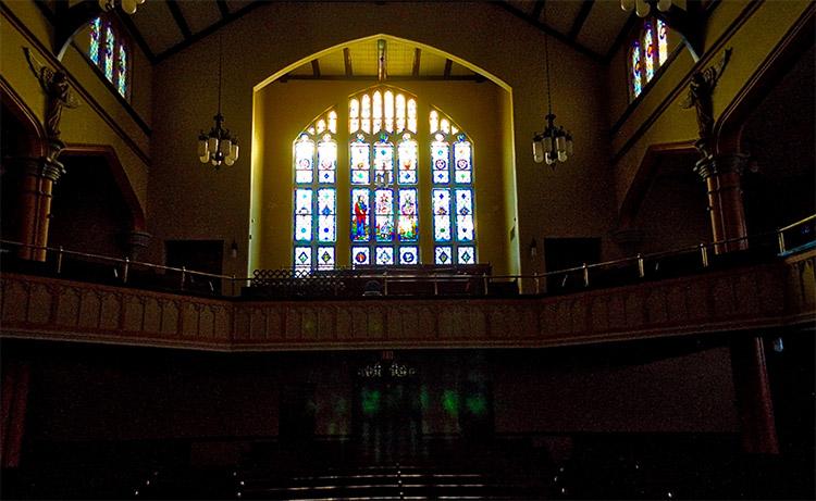 QQUM Church Interior