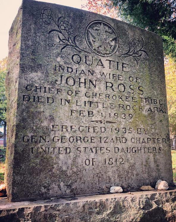Quatie Ross Tombstone