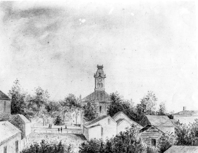 Van Buren Sketch by William Minor Quesenbury
