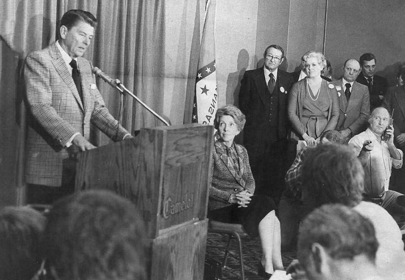 Ronald Reagan in Little Rock