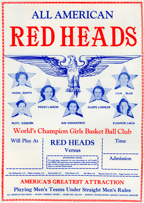 All American Red Heads Poster