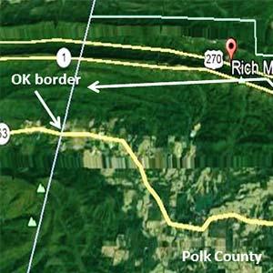Rich Mountain Map