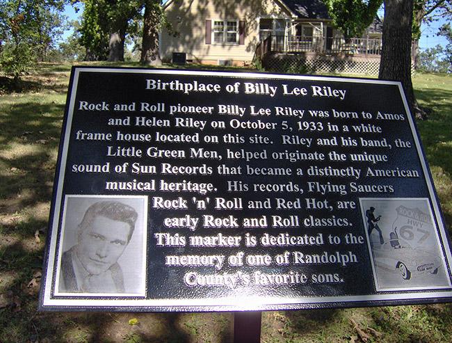 Billy Lee Riley Memorial