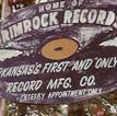 Rimrock Records Sign