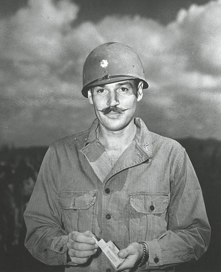 Winthrop Rockefeller in Army Uniform