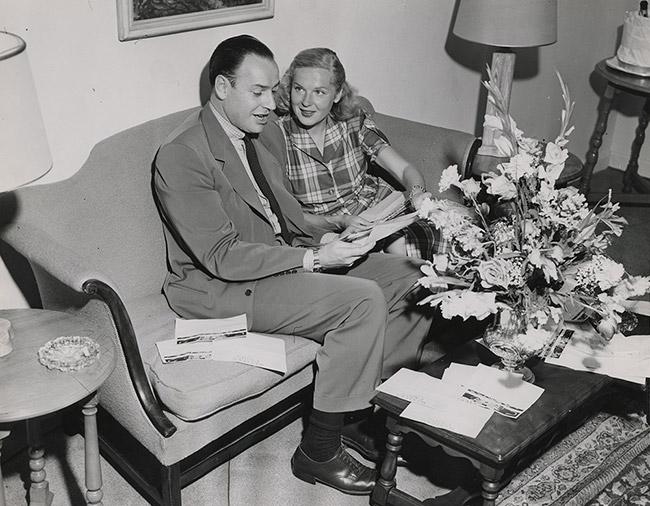 Winthrop and Barbara Sears Rockefeller