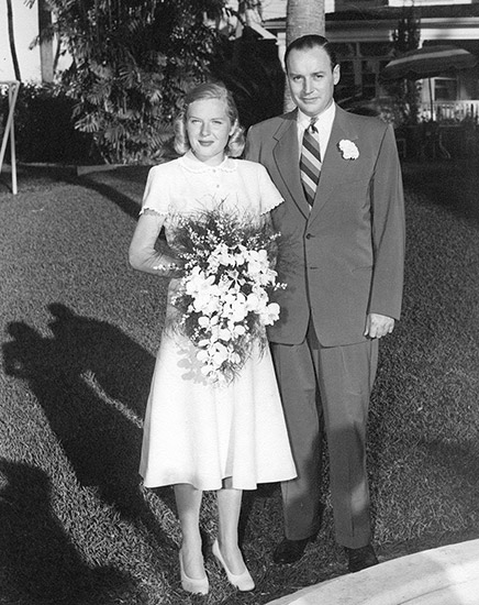 Winthrop and Barbara Sears Rockefeller Wedding