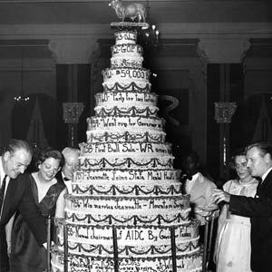 Rockefeller Cake