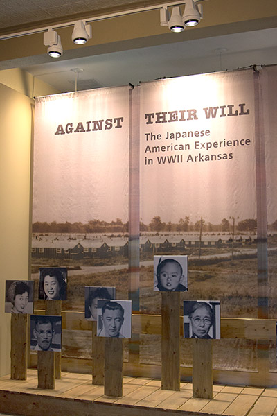 Japanese American Internment Museum Display