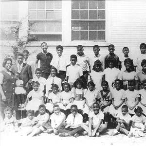 Rosenwald Class ca. 1960