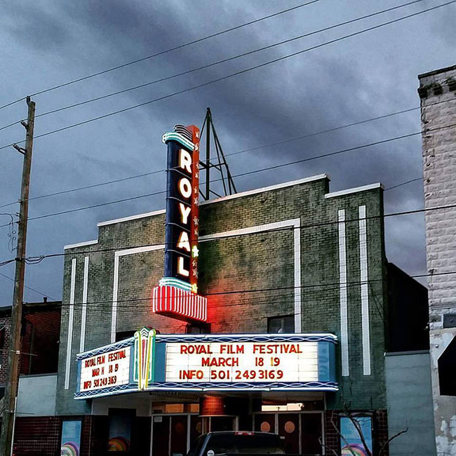 Royal Theatre Marquee