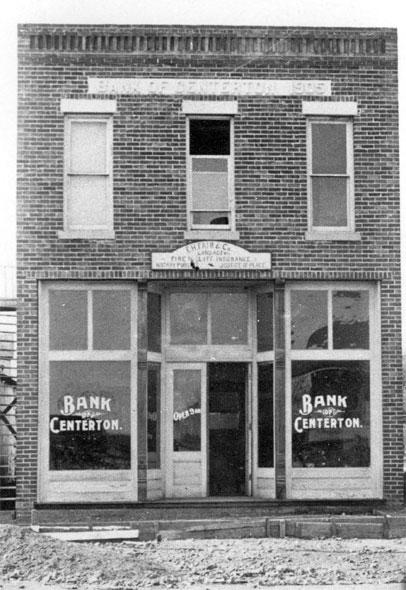 Centerton: Bank