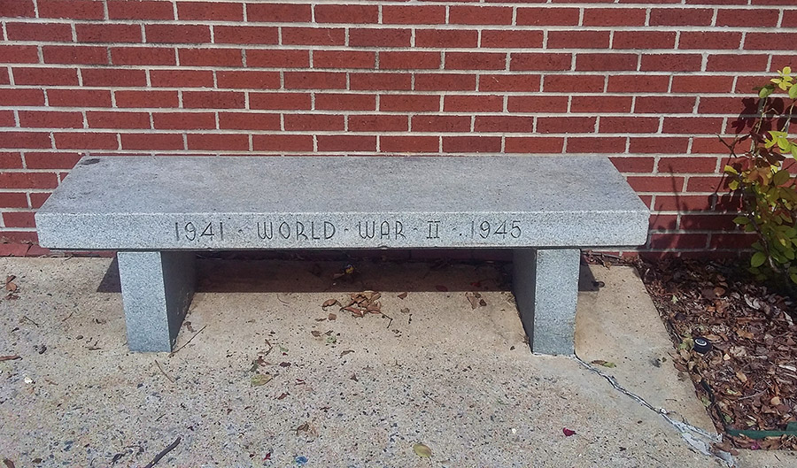 WWII Bench