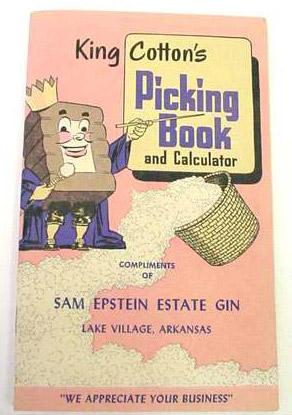King Cotton's Picking Book