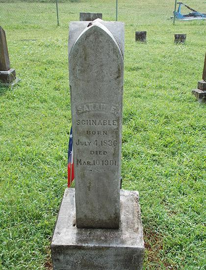 Sarah Schnable Grave