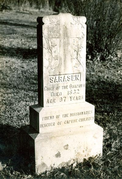 Sarasin's Tombstone