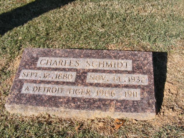 Charles Schmidt Headstone