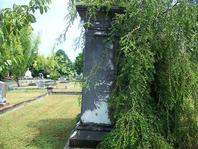 Ambrose Sevier Gravesite