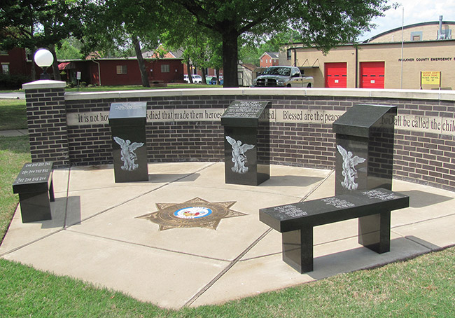 Faulkner County Sheriff Monument