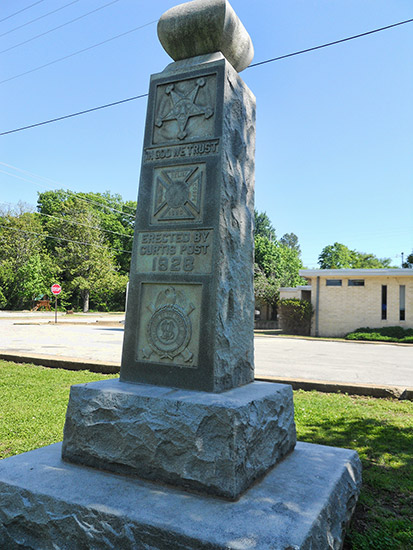 GAR Monument, Siloam Springs