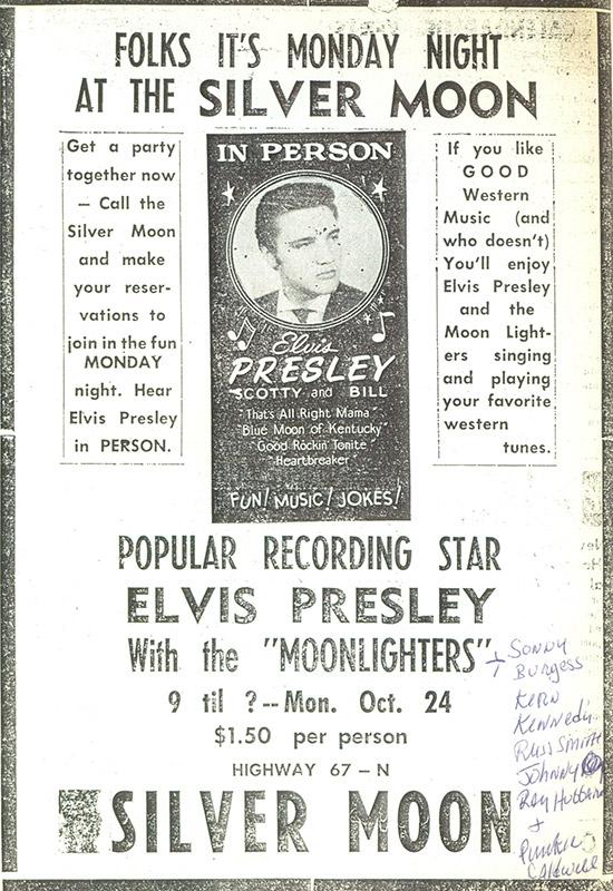 Elvis Presley Ad