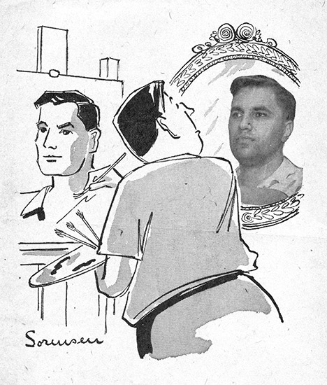 John Sorensen Self-Portrait