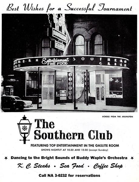 Southern Club Ad