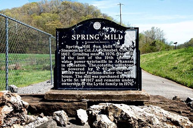 Spring Mill Marker