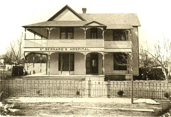 Original St. Bernards Medical Center Location