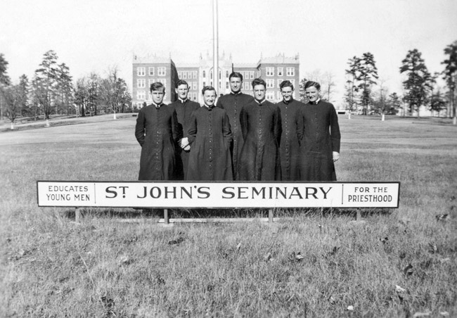 St. John's Seminary Students