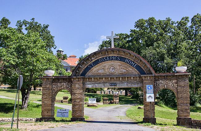 St. Joseph's Home Entrance