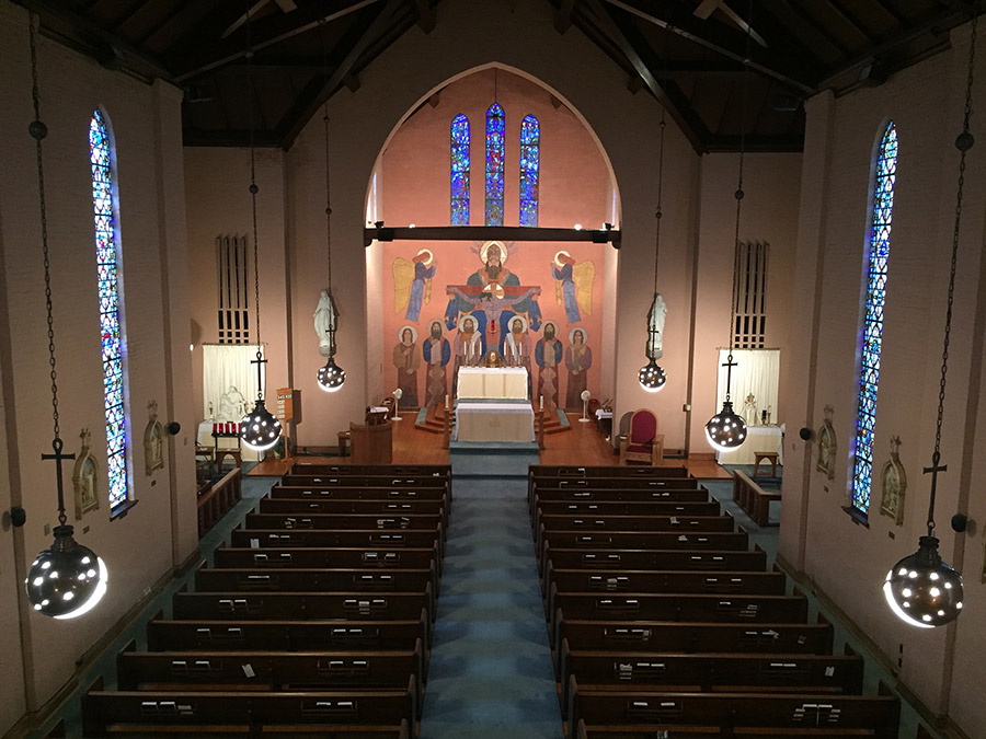 St. Mary's Catholic Church Interior