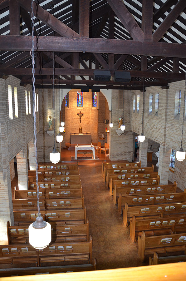 St. Mary's Catholic Church Interior