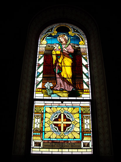 St. Mary's Church Stained Glass
