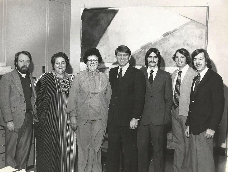 Steve Clark and Staff
