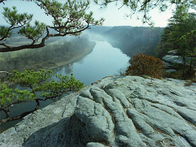 White River in Stone County
