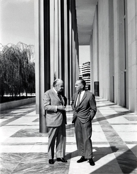 Edward Stone and J. William Fulbright