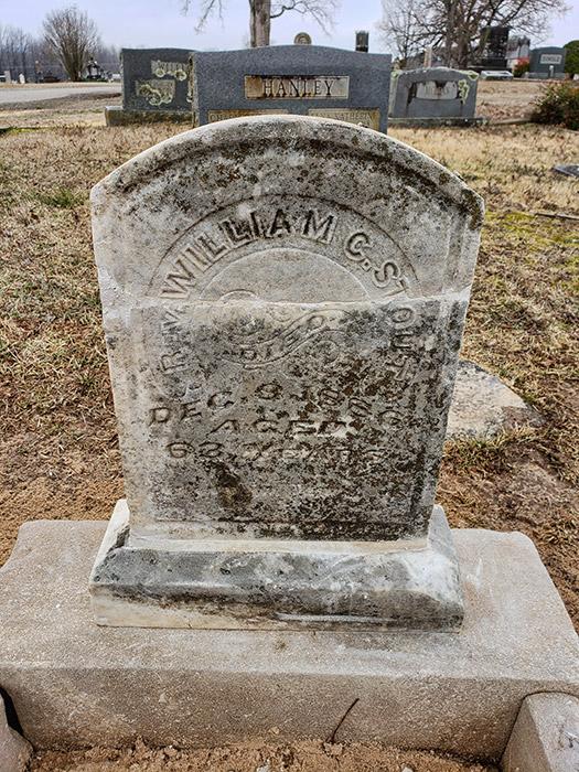 William Stout Grave - Restored