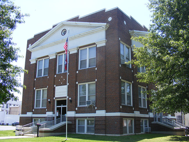 Arkansas County Courthouse, Northern District